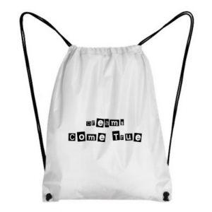Backpack-bag Dreams Come True