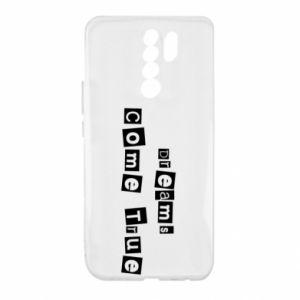 Etui na Xiaomi Redmi 9 Dreams Come True
