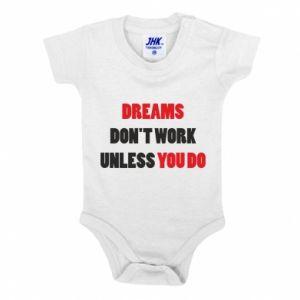Body dla dzieci Dreams don't work unless you do