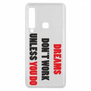 Etui na Samsung A9 2018 Dreams don't work unless you do