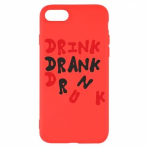 Etui na iPhone SE 2020 Drink. Drank. Drunk