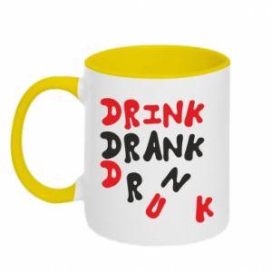 Kubek dwukolorowy Drink. Drank. Drunk