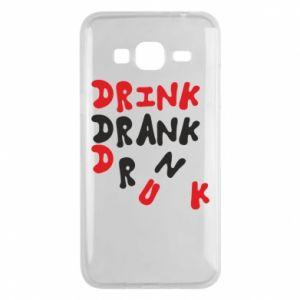 Etui na Samsung J3 2016 Drink. Drank. Drunk
