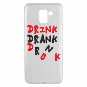 Etui na Samsung J6 Drink. Drank. Drunk
