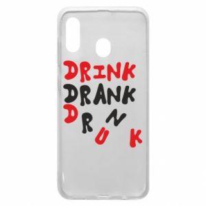 Etui na Samsung A30 Drink. Drank. Drunk