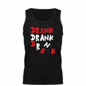 Męska koszulka Drink. Drank. Drunk