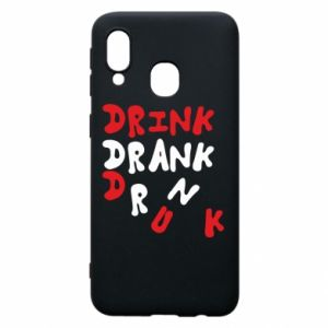 Etui na Samsung A40 Drink. Drank. Drunk
