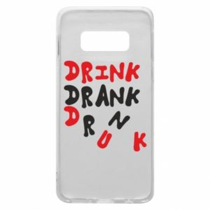 Etui na Samsung S10e Drink. Drank. Drunk
