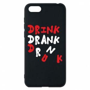 Etui na Huawei Y5 2018 Drink. Drank. Drunk