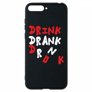 Etui na Huawei Y6 2018 Drink. Drank. Drunk