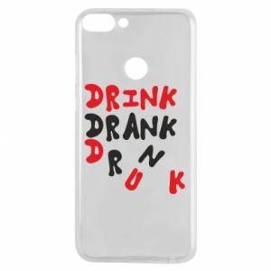 Etui na Huawei P Smart Drink. Drank. Drunk