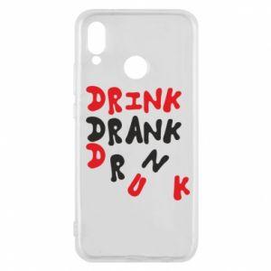 Etui na Huawei P20 Lite Drink. Drank. Drunk