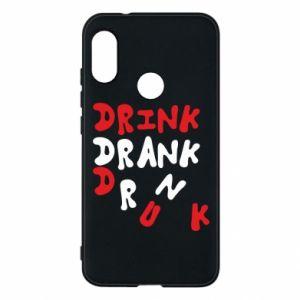 Etui na Mi A2 Lite Drink. Drank. Drunk
