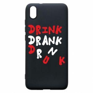 Etui na Xiaomi Redmi 7A Drink. Drank. Drunk