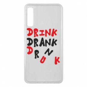 Etui na Samsung A7 2018 Drink. Drank. Drunk