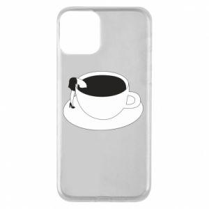 Etui na iPhone 11 Drown in coffee