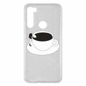 Etui na Xiaomi Redmi Note 8 Drown in coffee