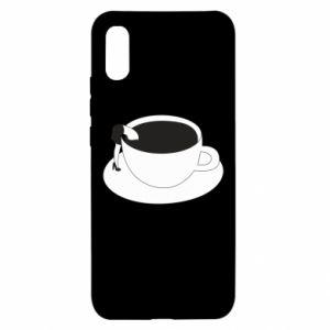 Etui na Xiaomi Redmi 9a Drown in coffee