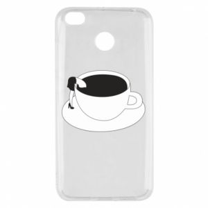Etui na Xiaomi Redmi 4X Drown in coffee