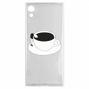 Etui na Sony Xperia XA1 Drown in coffee