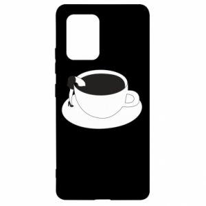 Etui na Samsung S10 Lite Drown in coffee