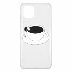 Etui na Samsung Note 10 Lite Drown in coffee