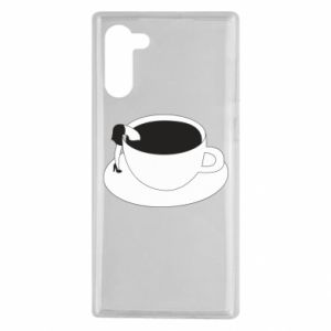 Etui na Samsung Note 10 Drown in coffee