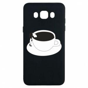 Etui na Samsung J7 2016 Drown in coffee