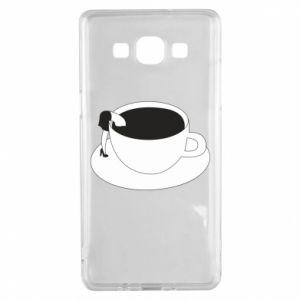 Etui na Samsung A5 2015 Drown in coffee