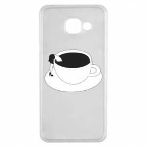 Etui na Samsung A3 2016 Drown in coffee