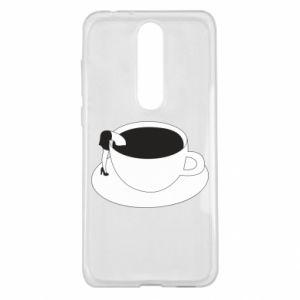 Etui na Nokia 5.1 Plus Drown in coffee