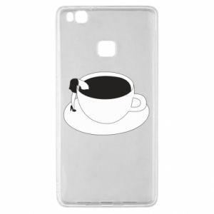 Etui na Huawei P9 Lite Drown in coffee