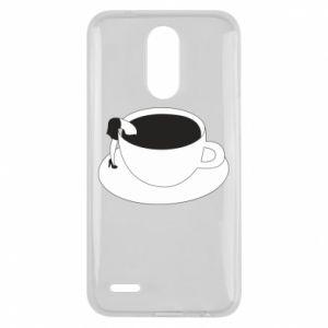 Etui na Lg K10 2017 Drown in coffee