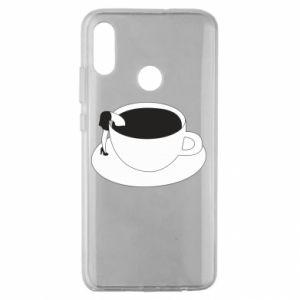 Etui na Huawei Honor 10 Lite Drown in coffee