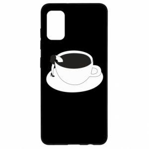Etui na Samsung A41 Drown in coffee