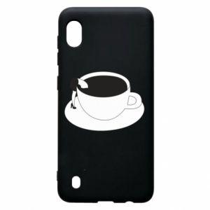 Etui na Samsung A10 Drown in coffee