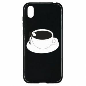 Etui na Huawei Y5 2019 Drown in coffee