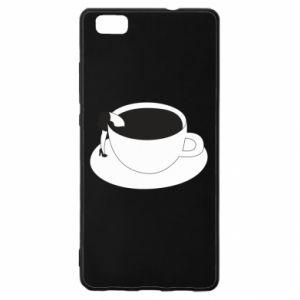Etui na Huawei P 8 Lite Drown in coffee