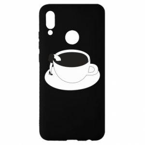 Etui na Huawei P Smart 2019 Drown in coffee