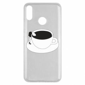 Etui na Huawei Y9 2019 Drown in coffee
