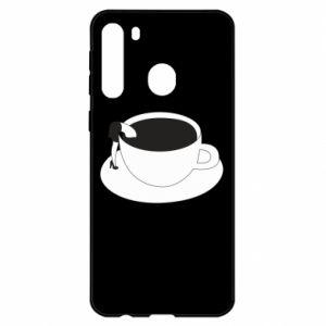 Etui na Samsung A21 Drown in coffee