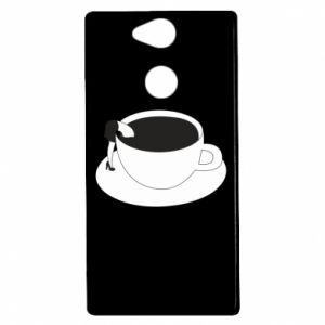 Etui na Sony Xperia XA2 Drown in coffee