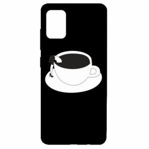 Etui na Samsung A51 Drown in coffee