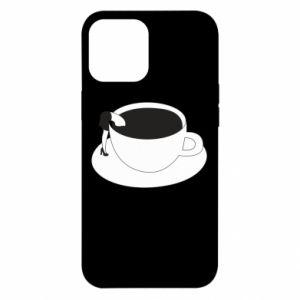 Etui na iPhone 12 Pro Max Drown in coffee