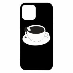Etui na iPhone 12/12 Pro Drown in coffee