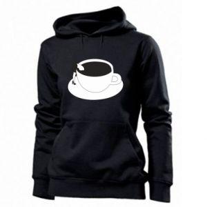 Women's hoodies Drown in coffee - PrintSalon