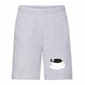 Men's shorts Drown in coffee - PrintSalon