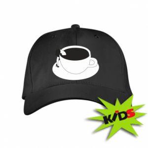 Kids' cap Drown in coffee - PrintSalon