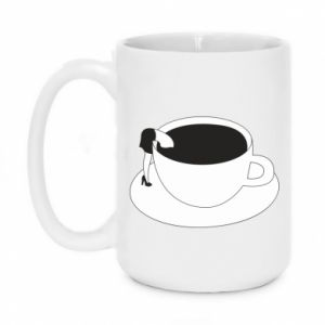 Mug 450ml Drown in coffee - PrintSalon