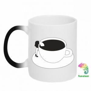 Chameleon mugs Drown in coffee - PrintSalon
